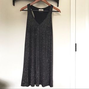 Everly Confetti Sparkle Tank Cocktail Party Dress